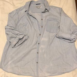Denim plus shirt
